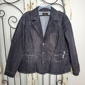 Ashley Stewart denim jacket size 16W